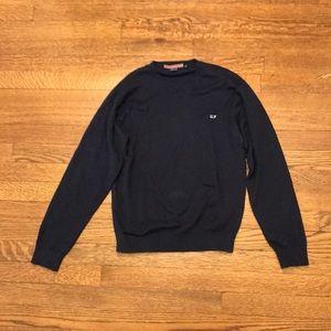Boy's Cotton V-Neck Pullover Sweater